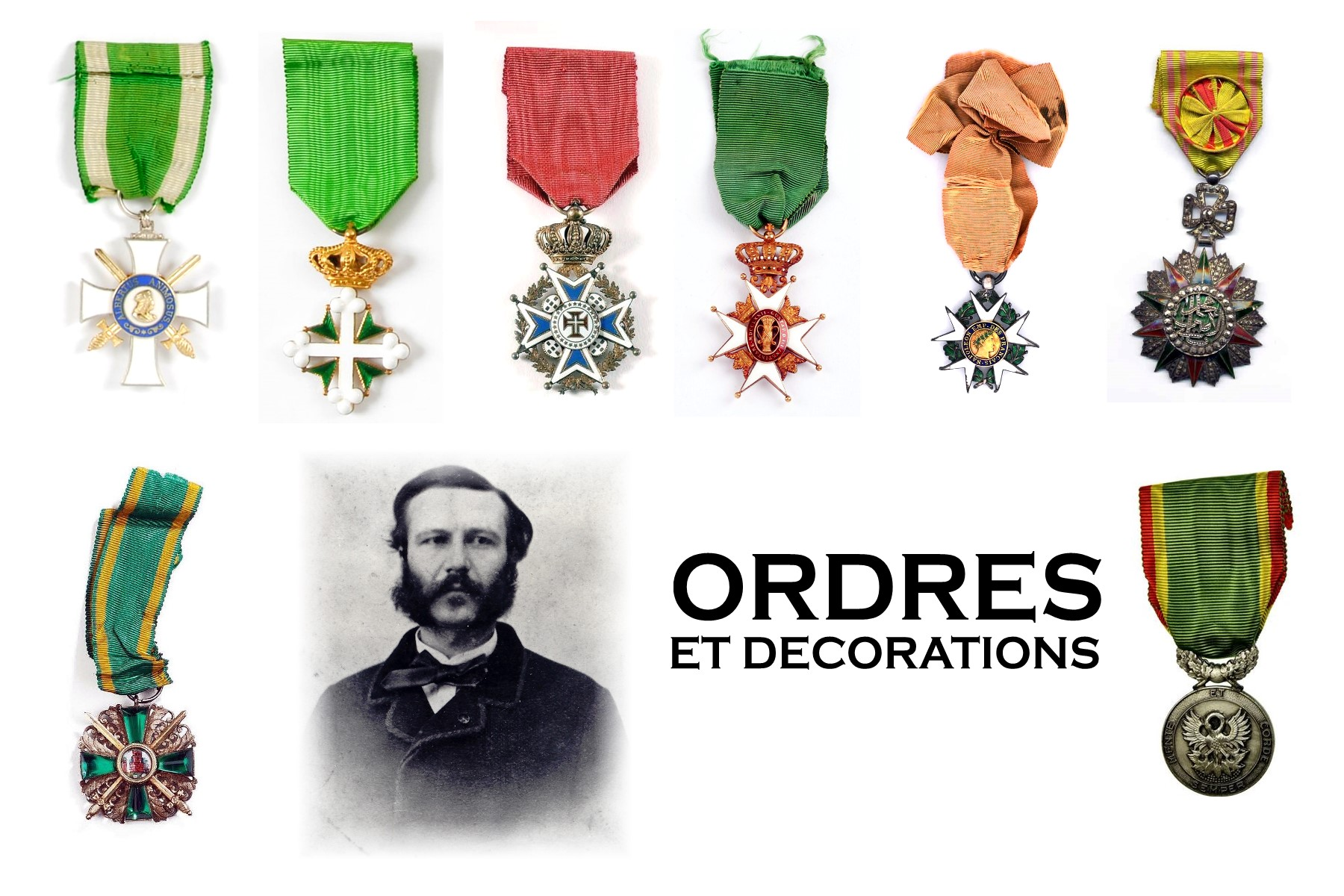 Décorations Henry Dunant